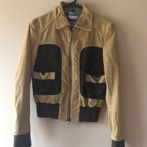 Vintage RED Valentino corduroy & suede jacket